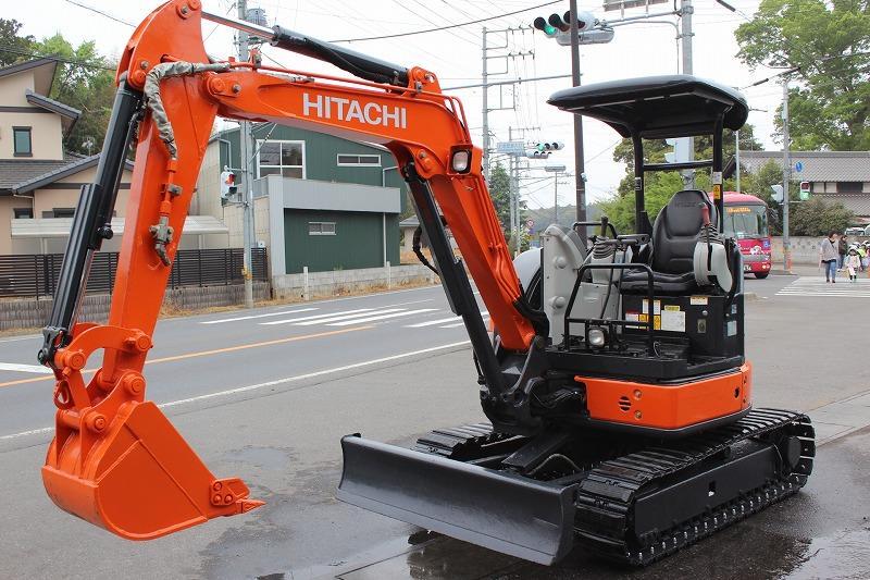 新品ハサミ付!HITACHI ZX30U-5A 2014y!3298h 配管・マルチ装備!ローン可能です。